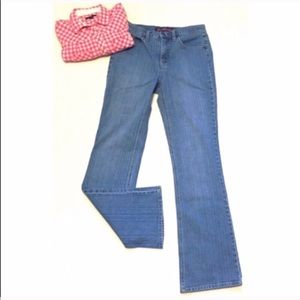🔷BOGO🔷 GV boot cut stretch jeans mid high rise 6